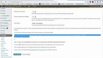 Cómo deshabilitar / habilitar el WordPress Cron
